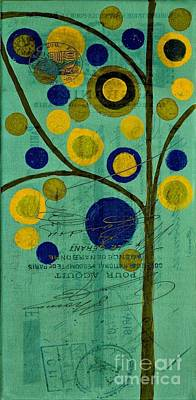 Bubble Tree - 4211t Poster by Variance Collections