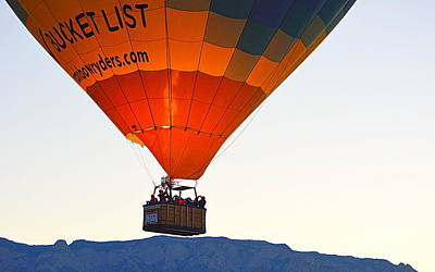 Poster featuring the photograph Bucket List by AJ Schibig