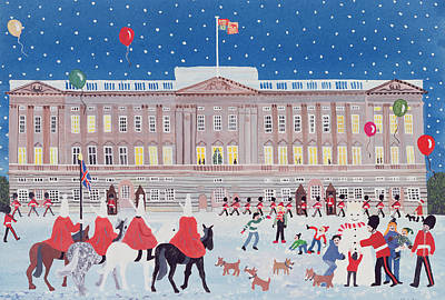 Buckingham Palace Poster by Judy Joel