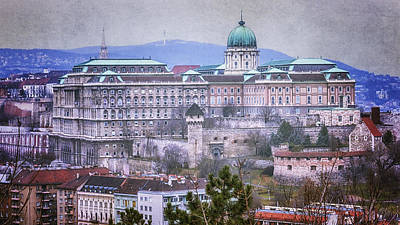 Buda Castle From Gellert Hill Poster