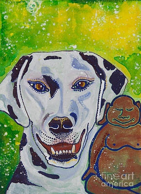 Buddha And The Divine Dalmatian No. 1334 Poster