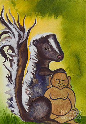 Buddha And The Divine Skunk No. 2275 Poster