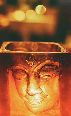 Buddha Candle Poster