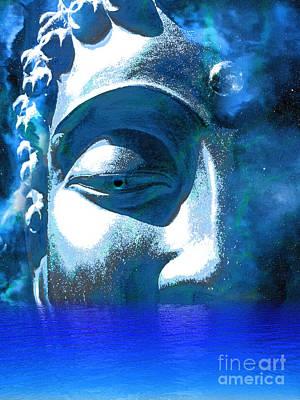 Buddha Emergence Poster by Khalil Houri