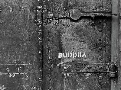 Poster featuring the photograph Buddha by Laurie Stewart