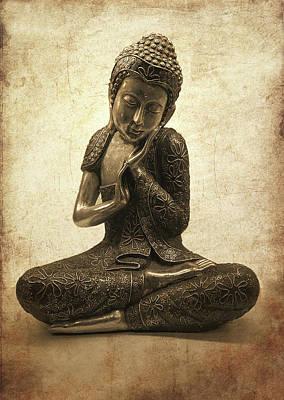 Buddha Lotus Poster by Madeleine Forsberg