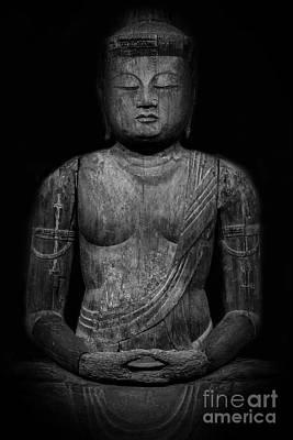 Buddha Mahavairocana Poster by Edward Fielding