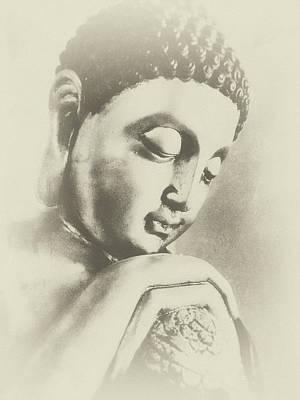 Buddha Profile Dream Poster