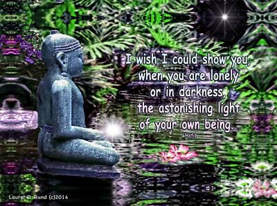 Buddha's Light Poster