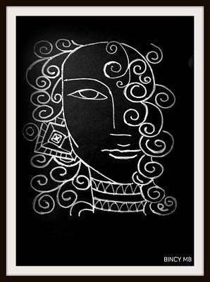 Budha Poster by Bincy Mb