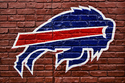 Buffalo Bills Poster by Stephen Stookey