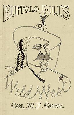 Buffalo Bill's Wild West - American History Poster