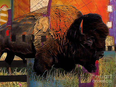 Buffalo Collection Poster by Marvin Blaine