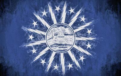 Buffalo Ny City Flag Poster