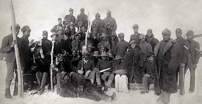 Buffalo Soldiers 1890 Poster