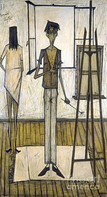 Buffet: Artist, 1948 Poster