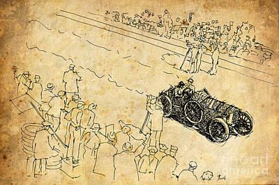 Bugatti Vanderbilt Cup Poster by Pablo Franchi
