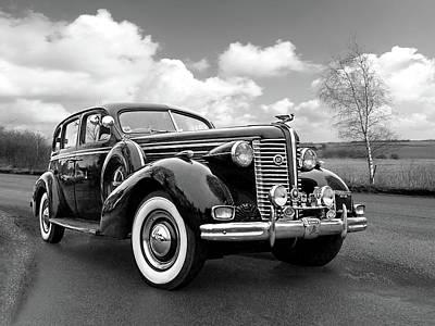 Buick 8 1938 Sedan Poster by Gill Billington