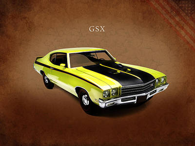 Buick Gsx 1971 Poster by Mark Rogan