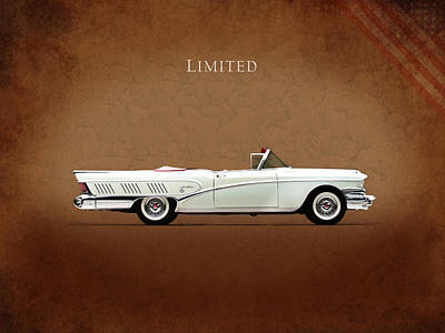 Buick Limited 1958 Poster by Mark Rogan