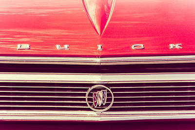 Poster featuring the photograph Buick Retro by Caitlyn Grasso