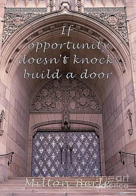 Build A Door Poster