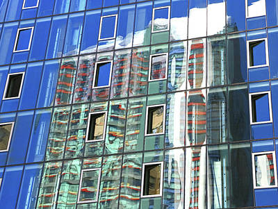 Building Reflections 9 Poster by Allen Beatty