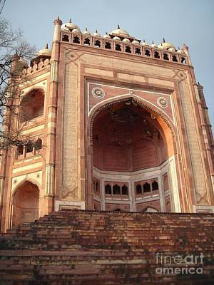 Buland Darwaza - Fatehpur Sikri  Poster by Mike Holloway