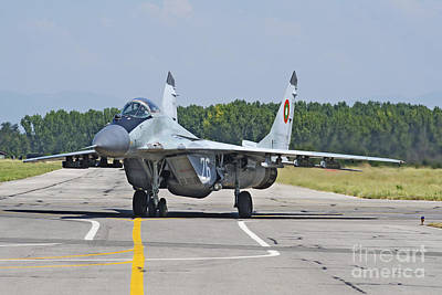 Bulgarian Air Force Mig-29 Fulcrum Poster
