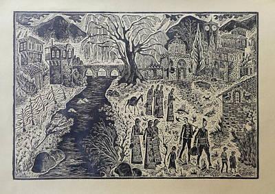 Bulgarian Village Poster by Milen Litchkov