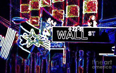 Bull Market Poster by Linda  Parker