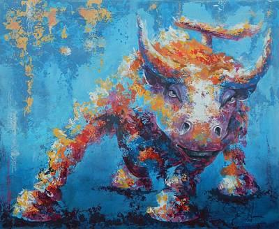 Bull Market X Poster by John Henne