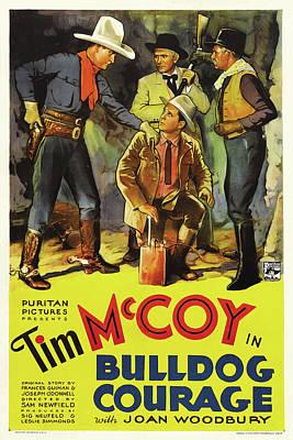 Bulldog Courage 1935 Poster by Mountain Dreams