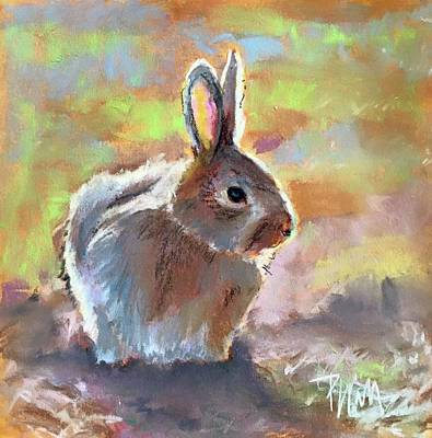 Bunny Poster by Pattie Wall