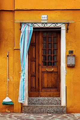 Burano Doorway Poster