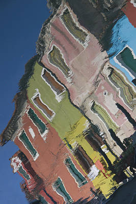 Burano Italy Reflections Poster