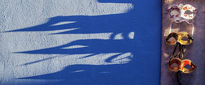 Burano Shadows Poster by Art Ferrier
