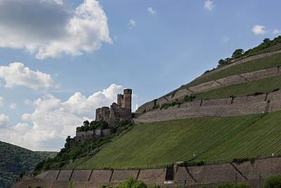 Burg Ehrenfels Poster by Teresa Mucha