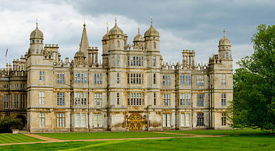 Burghley House Poster
