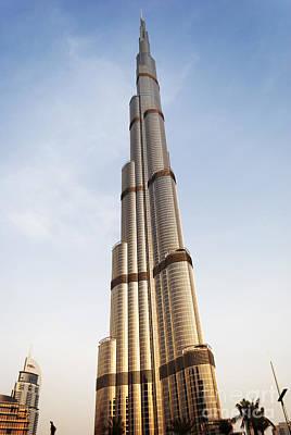 Burj Khalifa In Dubai Poster by Jelena Jovanovic