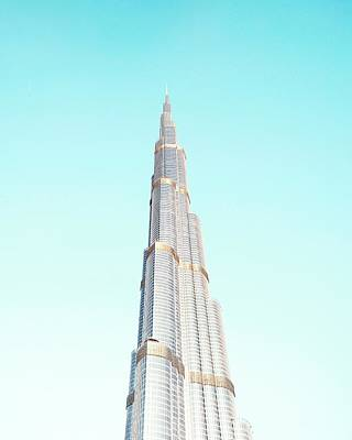 Burj Khalifa Poster by Happy Home Artistry