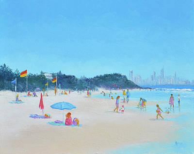 Burleigh Heads Gold Coast Australia Poster
