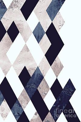 Burlesque Texture Poster