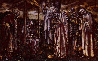 Burne Jones Sir Edward Coley The Star Of Bethlehem Poster