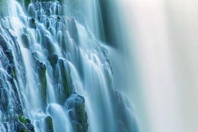 Burney Falls Close Up Poster