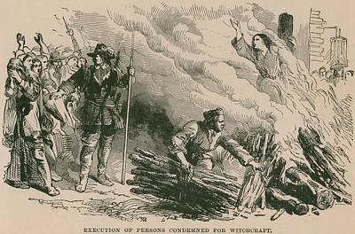 Burning At The Stake, One Of The Most Poster by Everett