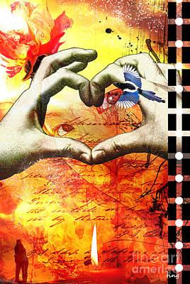 Burning Desire Poster by Ting Huang