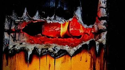 Burning Stump H B Poster