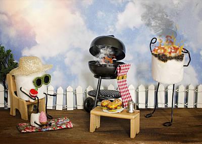 Burnt Sugar Poster by Heather Applegate