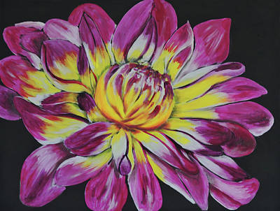 Bursting Bloom Poster